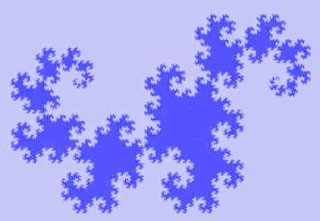 Пример рекурсивной программы «Кривая Дракона»